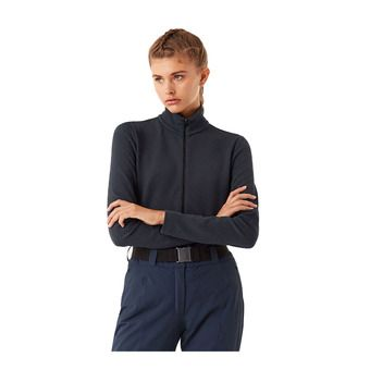 Colmar FULL ZIP JACQUARD - Sweat Femme blue black