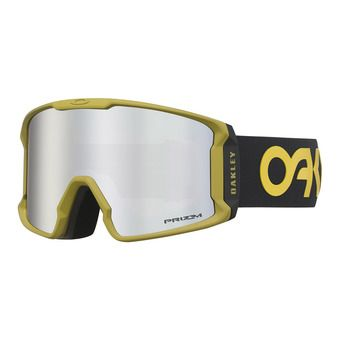 Oakley LINE MINER - Gafas de esquí black/prizm black