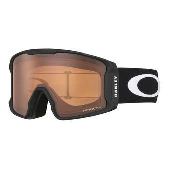 Oakley LINE MINER - Masque ski matte black/prizm persimmon
