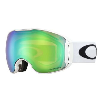 Oakley AIRBRAKE XL - Masque ski polished white/prizm jade iridium