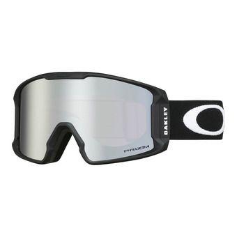 Oakley LINE MINER XM - Gafas de esquí matte black/prizm snow black iridium
