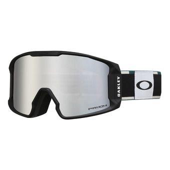 Oakley LINE MINER XM -  Gafas de esquí green/prizm black