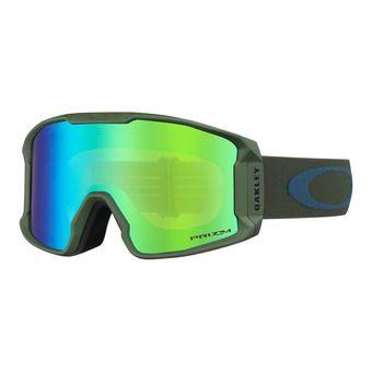 Oakley LINE MINER XM - Masque ski green/prizm jade