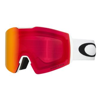 Oakley FALL LINE XL - Masque ski white/prizm snow torch iridium