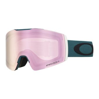 Oakley FALL LINE XM - Masque ski green/prizm snow hi pink iridium