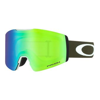 Oakley FALL LINE XM - Masque ski green/prizm snow jade iridium