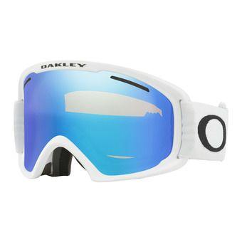 Oakley O FRAME 2.0 PRO XL - Masque ski white/violet iridium