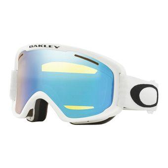 Oakley O FRAME 2.0 PRO XM - Masque ski matte white/hi yellow iridium