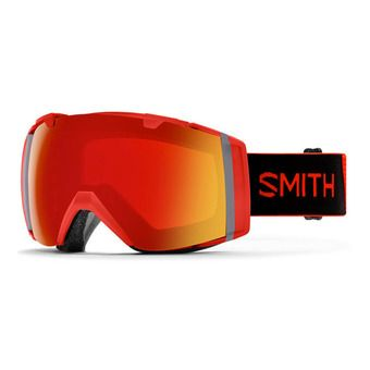 Smith I/O - Ski Goggles - cps red m + cp storm pink flash
