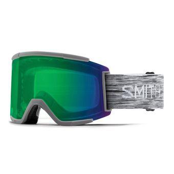 Smith SQUAD - Maschera da sci green sol x mirror