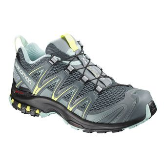Salomon XA PRO 3D - Chaussures trail Femme stormy wea/le/eggshell