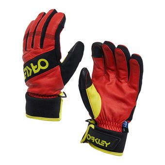 Oakley FACTORY WINTER - Gants Homme high risk red