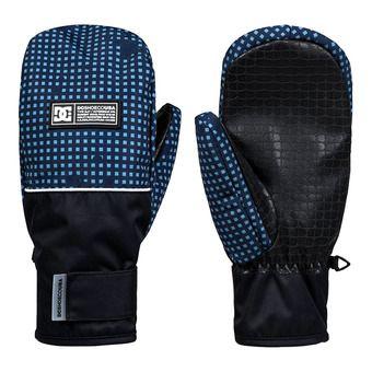 DC Shoes FRANCHISE - Manoplas hombre blue desert camo
