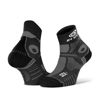 Bv Sport STX+ EVO - Chaussettes x2 noir/noir