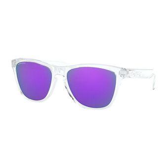 Oakley FROGSKINS - Lunettes de soleil polished clear/prizm violet