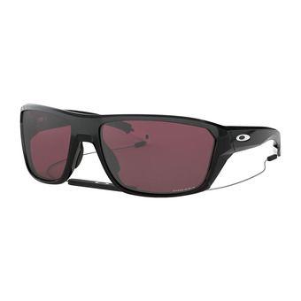 Oakley SPLIT SHOT - Lunettes de soleil polished black/prizm snow black