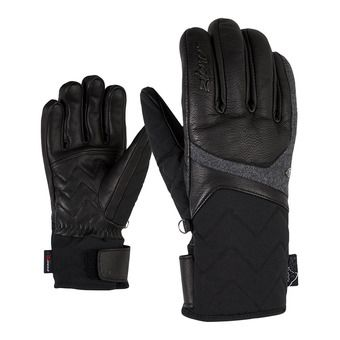 Ziener KRISTALL AS AW - Gants ski Femme black