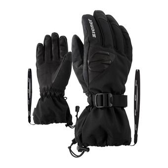 Ziener GOFRIED AS AW - Guantes de esquí hombre black