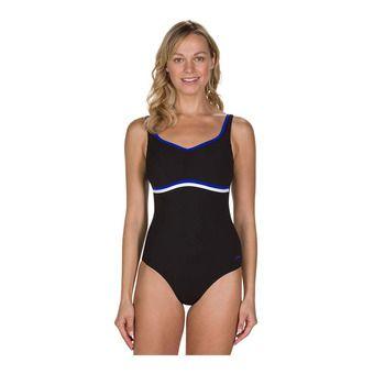 Speedo SCULPTURE CONTOURLUXE - Maillot de bain Femme black/blue