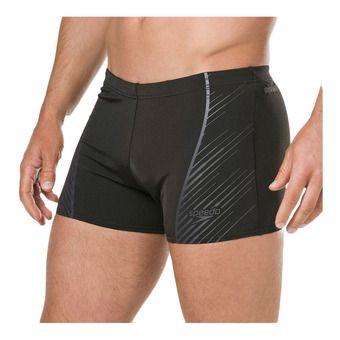Speedo SPORT PANEL - Swimming Trunks - Men's - black/grey