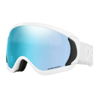 Oakley CANOPY - Masque ski factory pilot whiteout/prizm sapphire iridium
