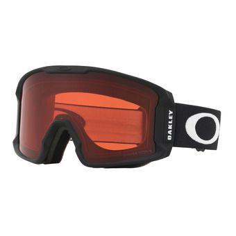Oakley LINE MINER XM - Maschera da sci matte black/prizm snow rose
