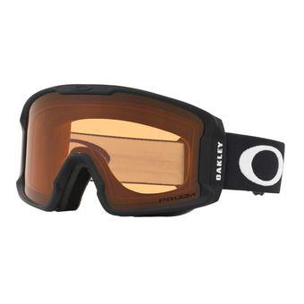 Oakley LINE MINER XM - Gafas de esquí matt black/prizm persimmon