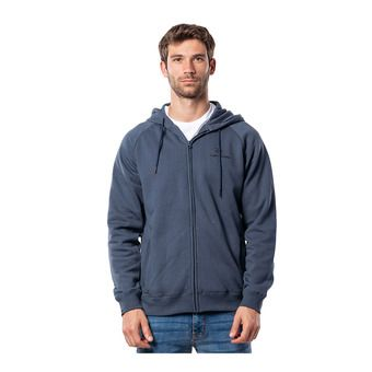 SURF CO. HOODED ZIP THROUGH FL Homme MIDNIGHT NAVY