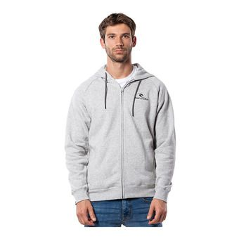 Rip Curl SURF CO. THROUGH - Sudadera hombre cement marle