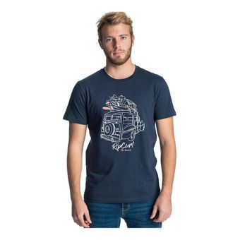 Rip Curl PICK UP - Tee-shirt Homme dark blue