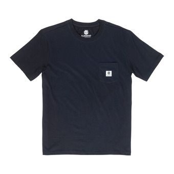BASIC POCKET LABEL S Homme FLINT BLACK