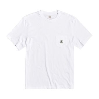 BASIC POCKET LABEL S Homme OPTIC WHITE