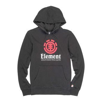 Element VERTICAL - Sweat Homme flint black