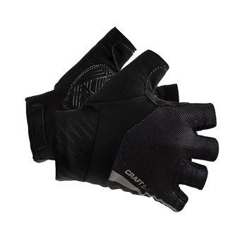 Rouleur Gants résistants de vélo Unisexe noir/noir
