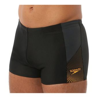 Speedo DIVE - Swimming Trunks - Men's - black/grey/orange