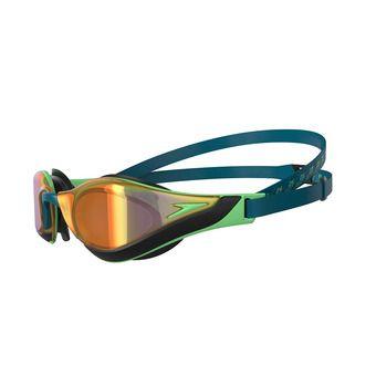 Speedo FASTSKIN PURE FOCUS MIRROR - Gafas de natación blue/green