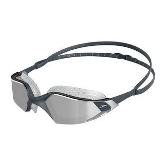 Speedo AQUAPULSE PRO MIRROR - Swimming Goggles - grey/silver