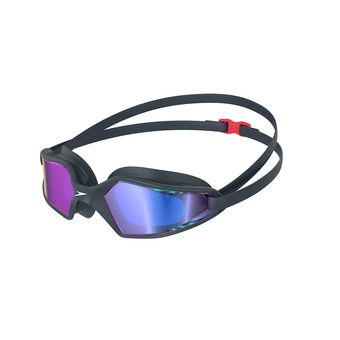 Speedo HYDROPULSE MIRROR - Swimming Goggles - navy/grey