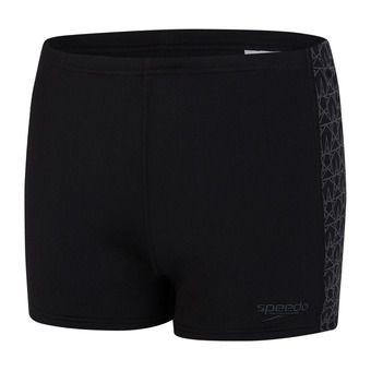 Speedo BOOMSTAR SPLICE - Swimming Trunks - Men's - black/grey