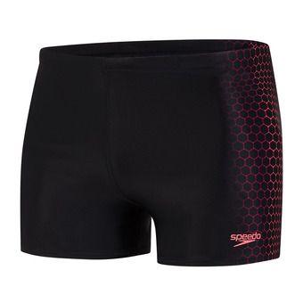 Speedo PLACEMENT - Swimming Trunks - Men's - black/red