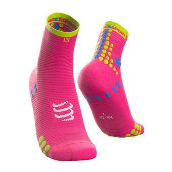 Pro Racing Socks v3.0 Run High Unisexe PINK MELANGE