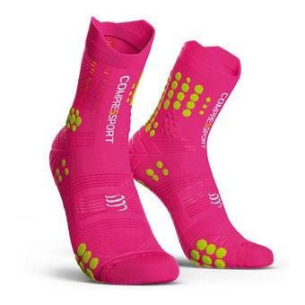 Pro Racing Socks v3.0 Trail Unisexe PINK MELANGE