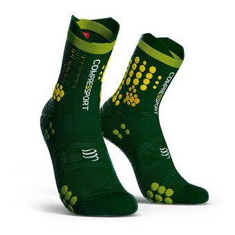 Pro Racing Socks v3.0 Trail Unisexe STEALTH GREEN