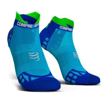 Pro Racing Socks v3.0 Ultralight Run Low Unisexe FLUO BLUE