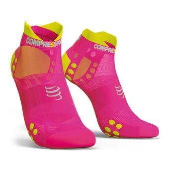 Pro Racing Socks v3.0 Ultralight Run Low Unisexe FLUO PINK