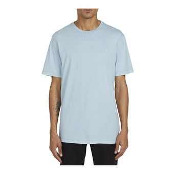SOLID STONE EMB S/S TEE Homme COOL BLUE