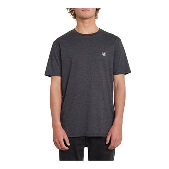 CIRCLE BLANKS HTH SS Homme HEATHER BLACK