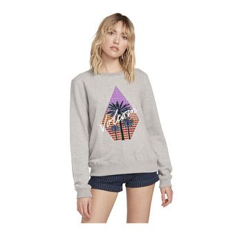 SOUND CHECK FLEECE Femme HEATHER GREY