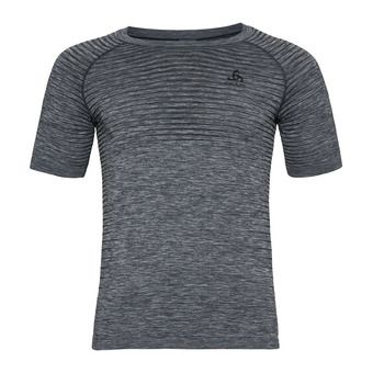 BL TOP Crew neck s/s PERFORMANCE LIGHT Homme grey melange