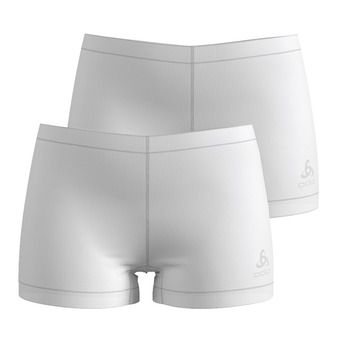 SUW Bottom Panty ACTIVE CUBIC LIGHT 2 Pa Femme white